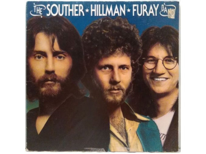LP The Souther-Hillman-Furay Band ‎– The Souther-Hillman-Furay Band, 1974