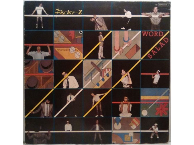 LP Fischer-Z - Word Salad, 1979