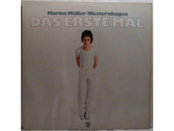 LP Marius Muller-Westernhagen - Das Erste Mal, 1975