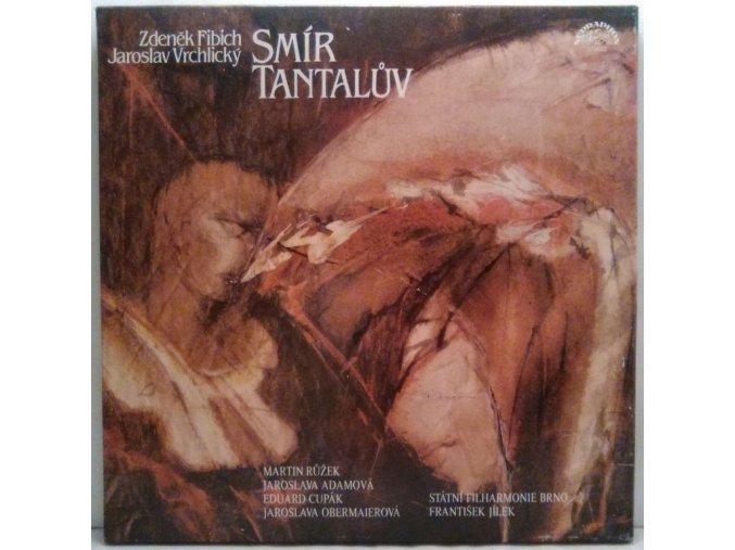 3LP Box Fibich-Vrchlický - Smír Tantalův, 1983