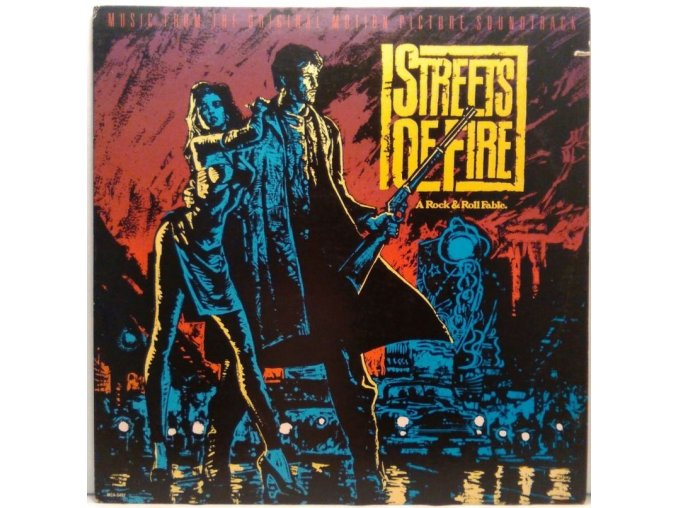 LP Streets Of Fire - Music From The Original Motion Picture Soundtrack, 1984
