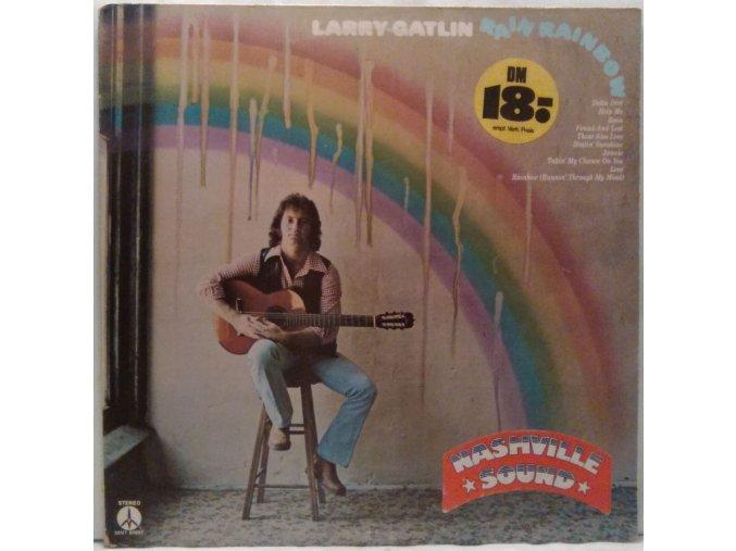 LP Larry Gatlin - Rain Rainbow, 1974