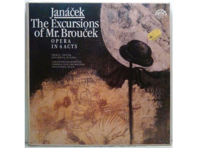 3LP Box Leoš Janáček - The Czech Philharmonic Orchestra, František Jílek - The Excursions Of Mr. Brouček, 1982