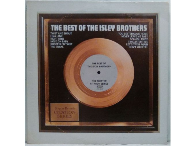 LP The Isley Brothers - The Best Of The Isley Brothers, 1972