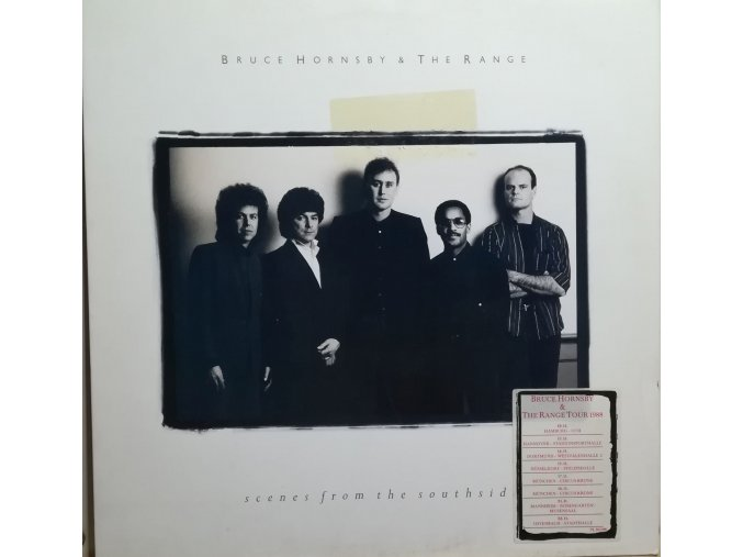LP Bruce Hornsby & The Range ‎– Scenes From The Southside, 1988