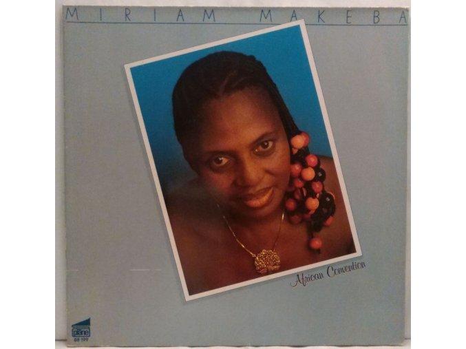 LP Miriam Makeba - African Convention, 1980