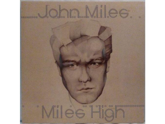 LP John Miles - Miles High, 1981