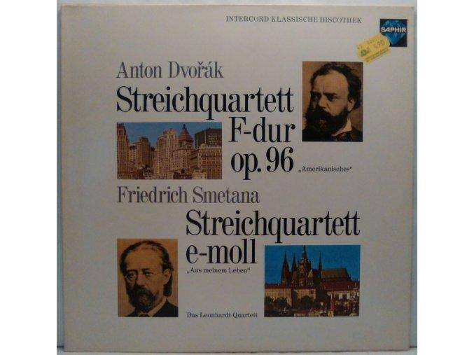 LP Dvořák/Smetana, Streichquartette, 1972