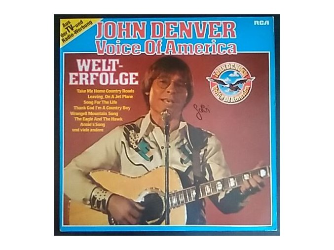 LP John Denver -  Voice Of America - Welterfolge, 1980