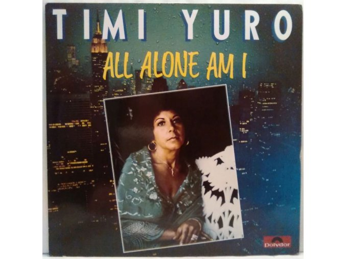 LP Timi Yuro - All Alone Am I, 1981