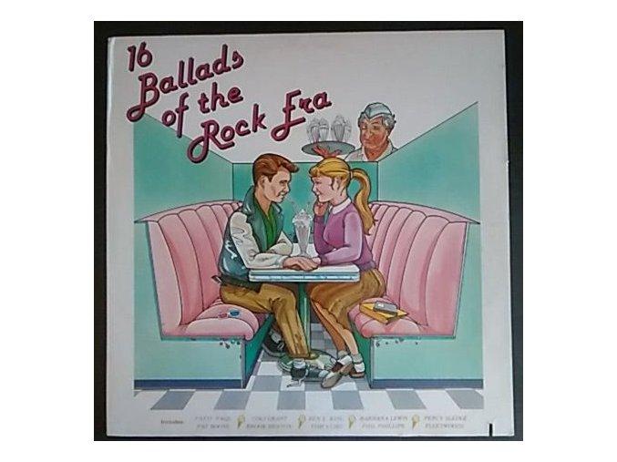 LP Various - 16 Ballads Of The Rock Era, 1983