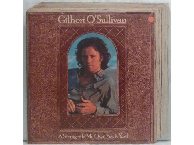 LP Gilbert O'Sullivan - A Stranger In My Own Backyard, 1974