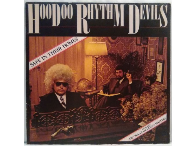 LP Hoodoo Rhythm Devils - Safe In Their Homes, 1976
