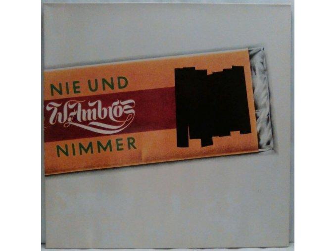 LP W. Ambros - Nie Und Nimmer, 1979