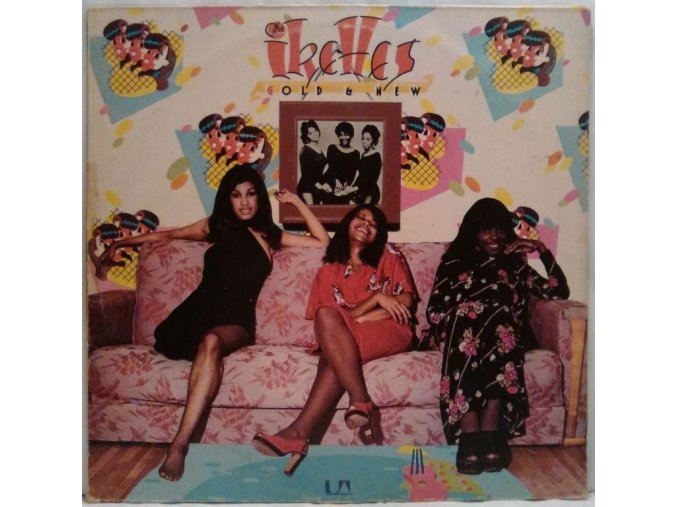 LP The Ikettes ‎– (G)Old & New, 1974