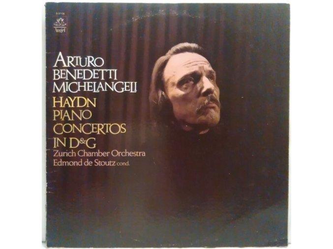 LP Haydn / Arturo Benedetti Michelangeli, Zurich Chamber Orchestra, Edmond De Stoutz – Haydn - Piano Concertos In D & G, 1975