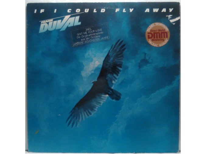 LP Frank Duval - If I Could Fly Away, 1983