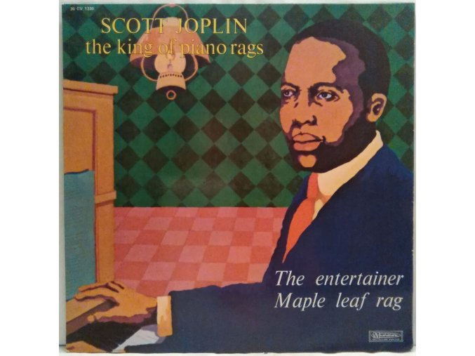 LP Scott Joplin ‎– The King Of Piano Rags - The Entertainer / Maple Leaf Rag
