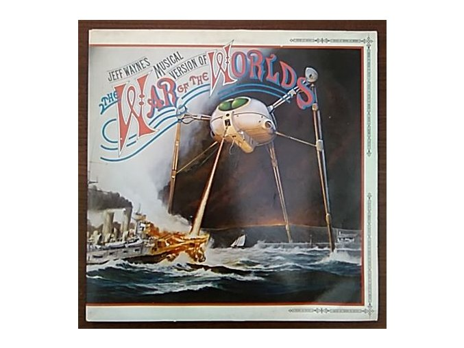 2LP Jeff Wayne's Musical Version Of The War Of The Worlds, 1978