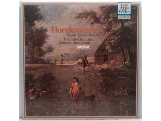 LP Haydn, Danzi, Rosetti, Hermann Baumann, Concerto Amsterdam - Hornkonzerte, 1969