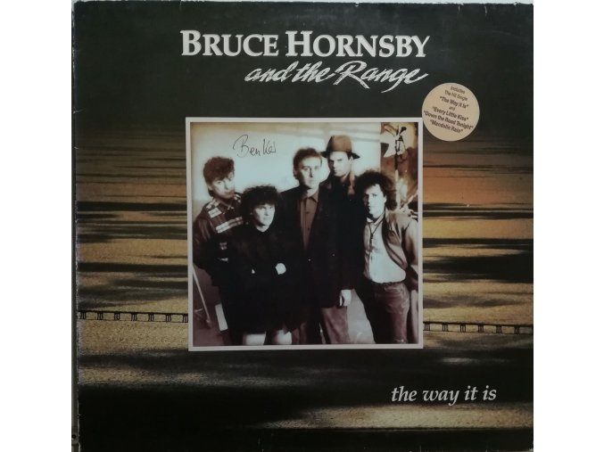 LP Bruce Hornsby And The Range ‎– The Way It Is, 1986