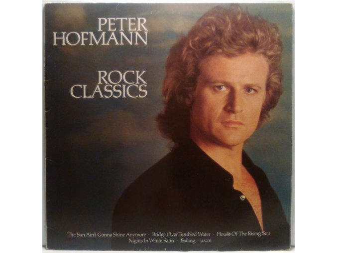 LP Peter Hofmann - Rock Classics, 1982