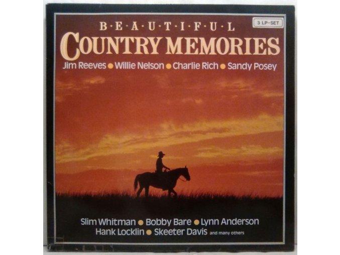 3LP  Various - Beautiful Country Memories