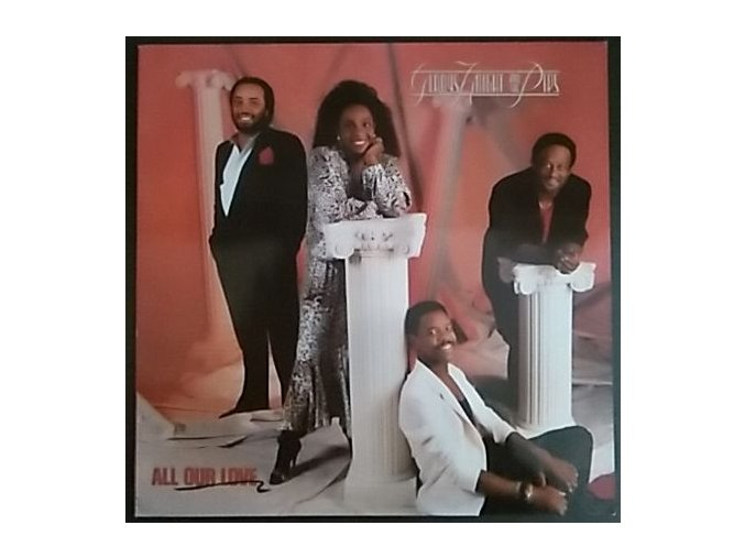 LP Gladys Knight And The Pips ‎– All Our Love, 1987
