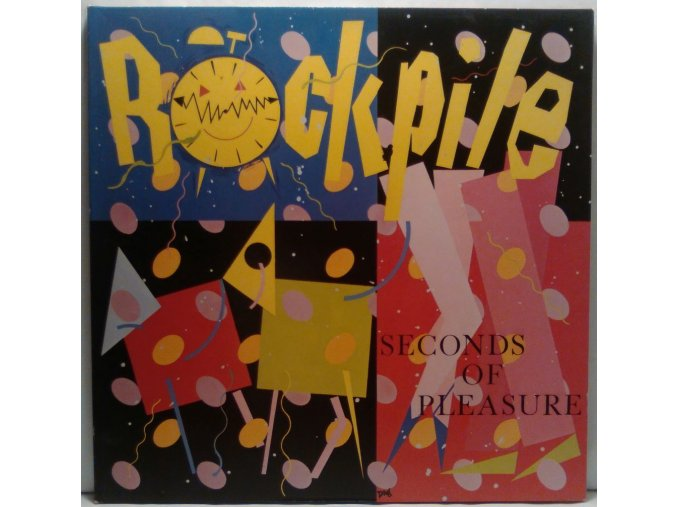 LP Rockpile ‎– Seconds Of Pleasure, 1980