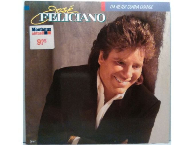 LP José Feliciano - I'm Never Gonna Change, 1989