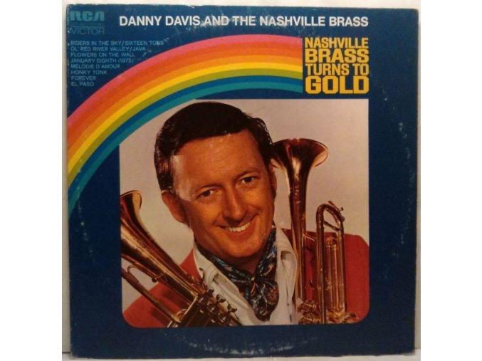 LP Danny Davis And The Nashville Brass - Nashville Brass Turns To Gold, 1972