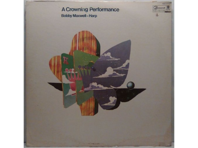 2LP Bobby Maxwell – A Crowning Performance, 1973
