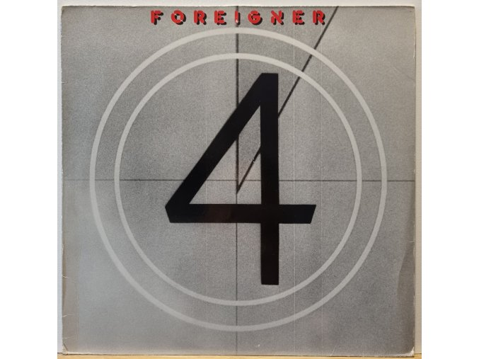 LP Foreigner - 4, 1981