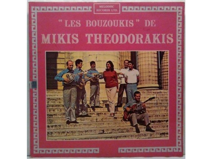 LP Mikis Theodorakis Avec Maria Farantouri – Les Bouzoukis De Mikis Theodorakis