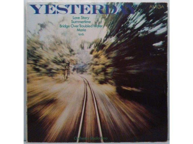 LP Orchester Studio Brno - Yesterday, 1976