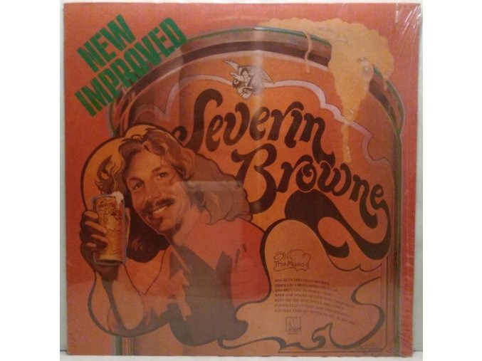 LP Severin Browne ‎– New Improved Severin Browne, 1974