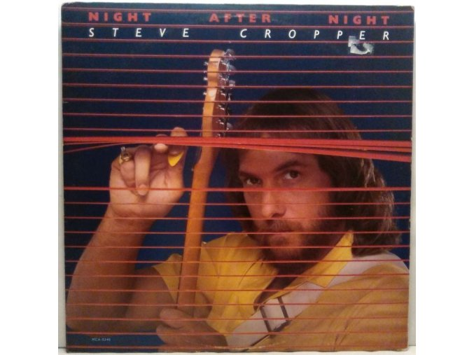 LP Steve Cropper - Night After Night, 1982