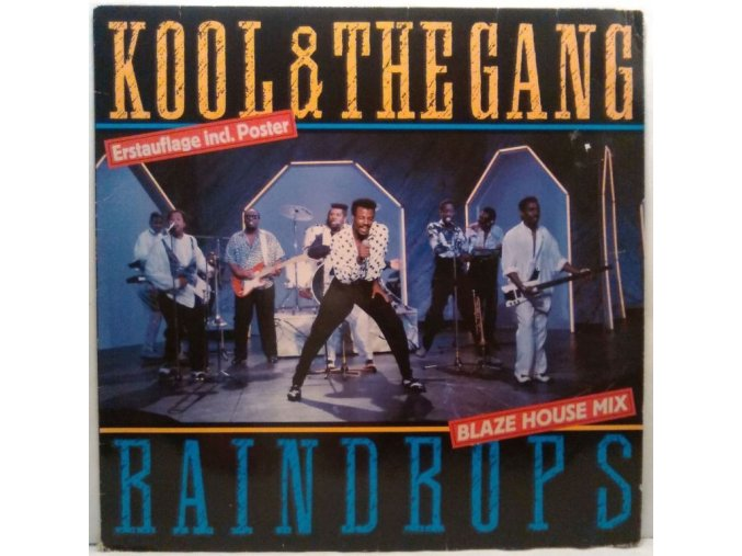 Kool & The Gang ‎– Raindrops (Blaze House Mix) 1989