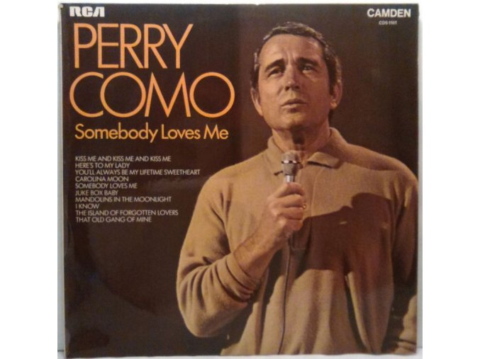 LP Perry Como – Somebody Loves Me, 1972