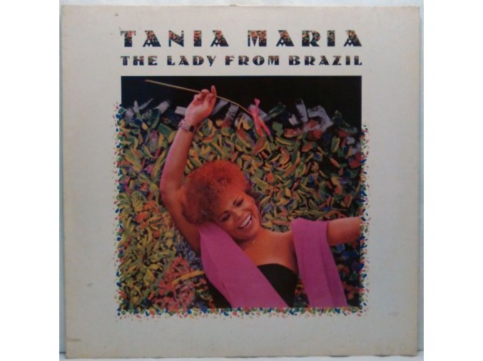 LP Tania Maria ‎– The Lady From Brazil, 1986