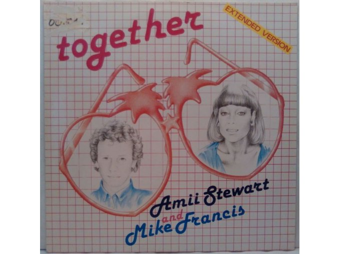 Amii Stewart And Mike Francis ‎– Together, 1985