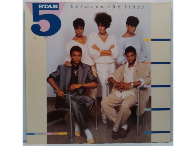 LP Five Star – Between The Lines, 1987