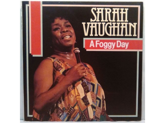 LP Sarah Vaughan - A Foggy Day, 1984