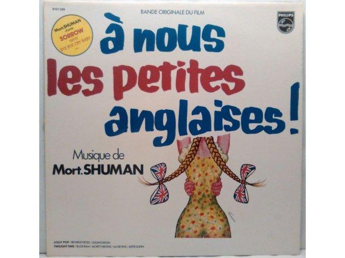 LP Mort Shuman – A Nous Les Petites Anglaises, 1976