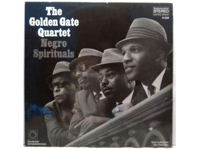 LP The Golden Gate Quartet – Negro Spirituals