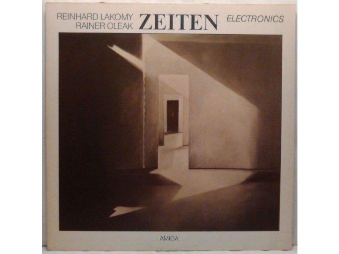 LP Reinhard Lakomy & Rainer Oleak – Zeiten, 1985