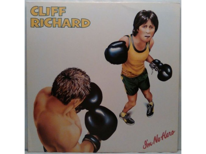 LP Cliff Richard - I'm No Hero, 1980