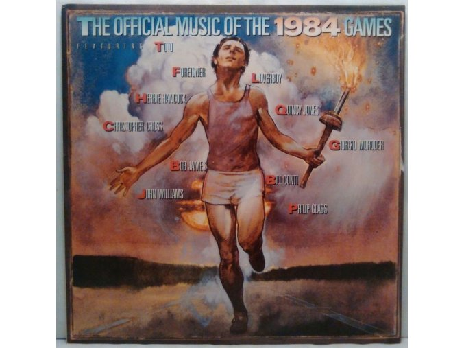 LP Various – The Official Music Of The 1984 Games, 1984