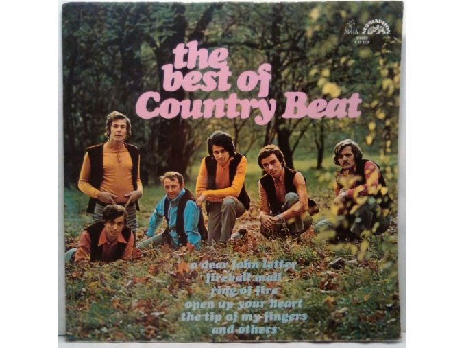 LP Jiří Brabec & His Country Beat – The Best Of Country Beat, 1973