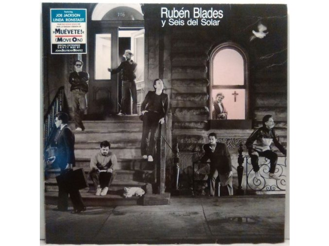 LP Rubén Blades Y Seis Del Solar – Escenas, 1985